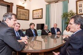 El vicegobernador Bahl recibió al secretario de Derechos Humanos de la Nación