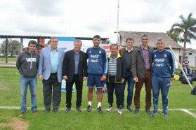 El gobierno provincial acompañó una clínica de árbitros de fútbol