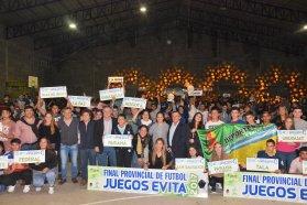 Se realizó la apertura oficial de la etapa provincial del fútbol en los Juegos Evita