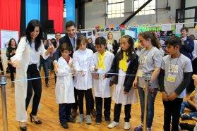 Escuelas Nina de toda la provincia compartieron una muestra educativa