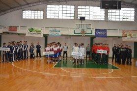 Se realizó la ceremonia inaugural del Campeonato Argentino Sub 15 de básquet