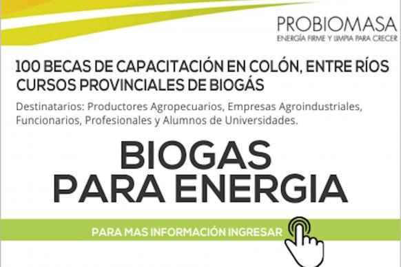 Entre Ríos se destaca en el país por su potencial para la generación de biogás