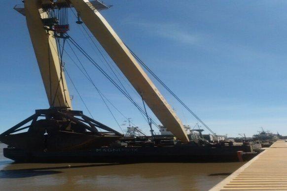 Se inicia la etapa final de los trabajos para lograr la operatividad del Puerto Ibicuy