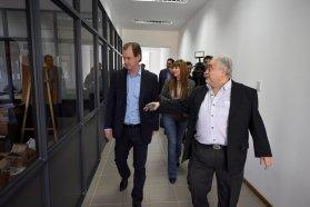 Bordet visitó el laboratorio Lafedar y ratificó su decisión de generar condiciones de competitividad