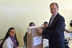 Bordet llamó a los entrerrianos a votar para afianzar la democracia