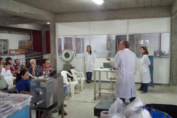 Cafesg e INTA cierran el curso  Saber de Cerdos 2017