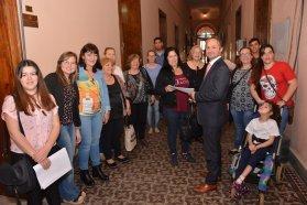 La provincia acompaña la formación de organizaciones sociales
