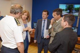 Provincia y municipio avanzan en políticas de seguridad para Concordia