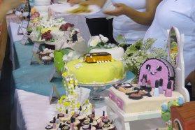 Alumnos de los Centros de Formación Laboral mostraron sus productos en un festival gastronómico