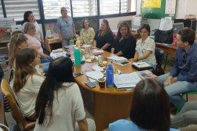 Supervisores de educación especial mantuvieron una reunión de trabajo