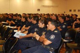 Cadetes de la escuela de agentes de policía recibieron capacitación en perspectiva de género