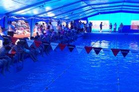 Entre Ríos pionera en enseñar natación en las escuelas públicas