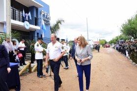 El gobierno provincial acompañó la inauguración de la nueva delegación de la Policía Federal Argentina en Chajarí