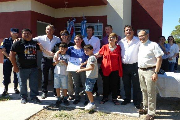 Nuevas viviendas del IAPV fueron entregadas en Aldea Santa María