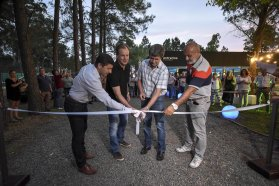 Inauguraron un predio deportivo para trabajadores públicos