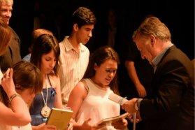 El gobierno provincial acompañó los Premios Aníbal Sánchez