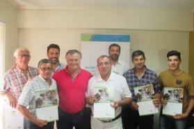 El gobierno provincial entregó aportes a instituciones deportivas