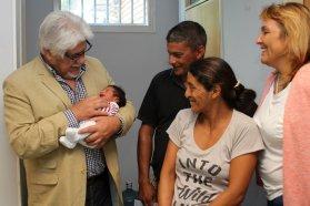 El primer bebé entrerriano es concordiense
