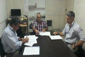Se firmó un convenio de descentralización entre el ICAB y el municipio de Hernandarias