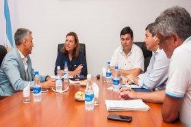 Autoridades viales se reunieron con legisladores de Paraná campaña