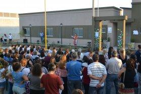 El gobierno provincial acompañó la inauguración de un refugio en Gualeguaychú
