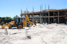 La escuela 100 Puerto Nuevo presenta un avance de obra de más del 46 por ciento