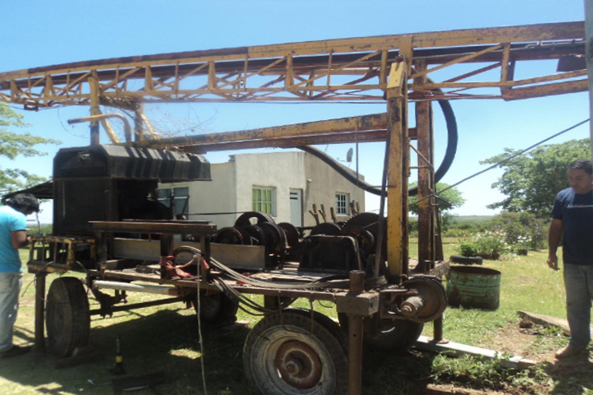 .La provincia realiza obras de mantenimiento para garantizar el servicio de agua potable.