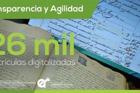 Digitalizan y mejoran el acceso a la información del Registro de la Propiedad Inmueble