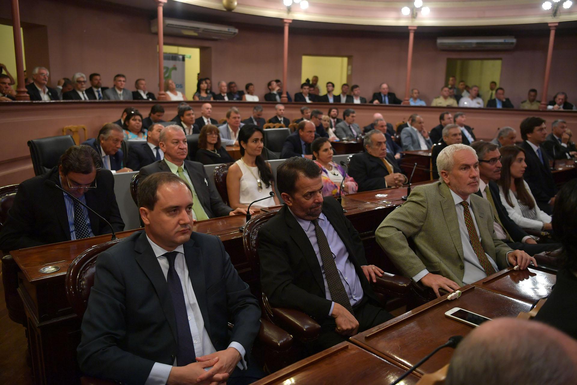 .Legisladores de la oposición destacaron el mensaje de Bordet.