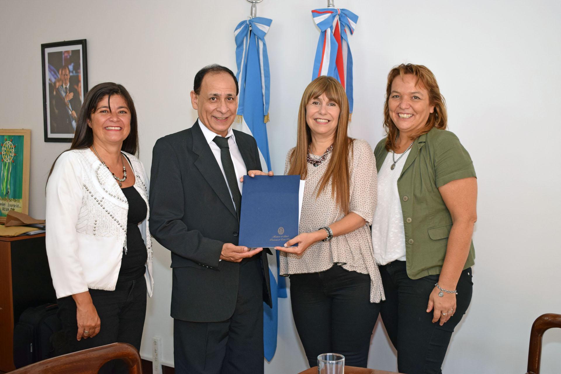.Pusieron en funciones al nuevo director del hospital de Seguí.
