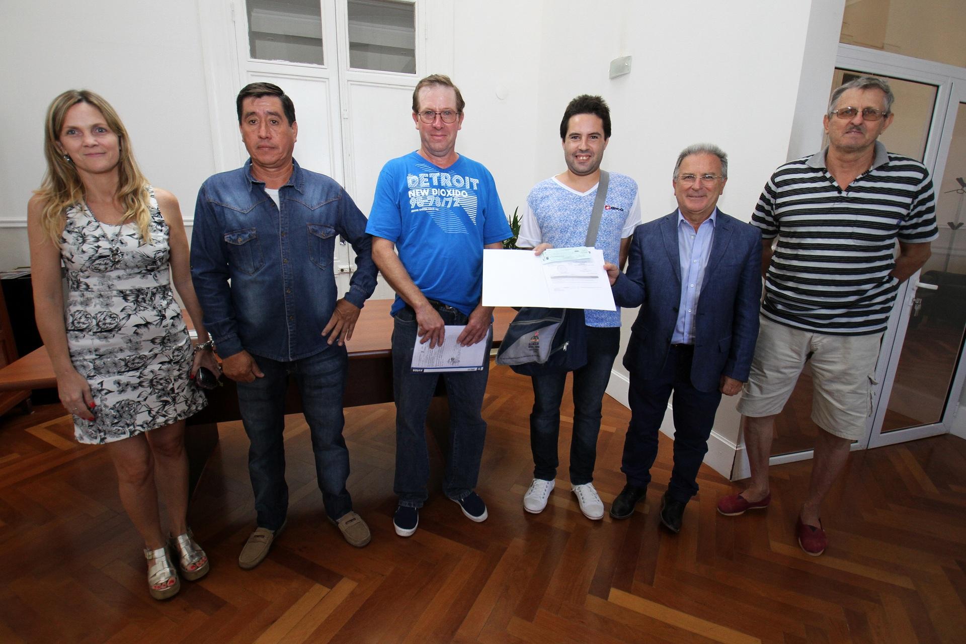 .El gobierno provincial entregó aportes por siete millones de pesos.