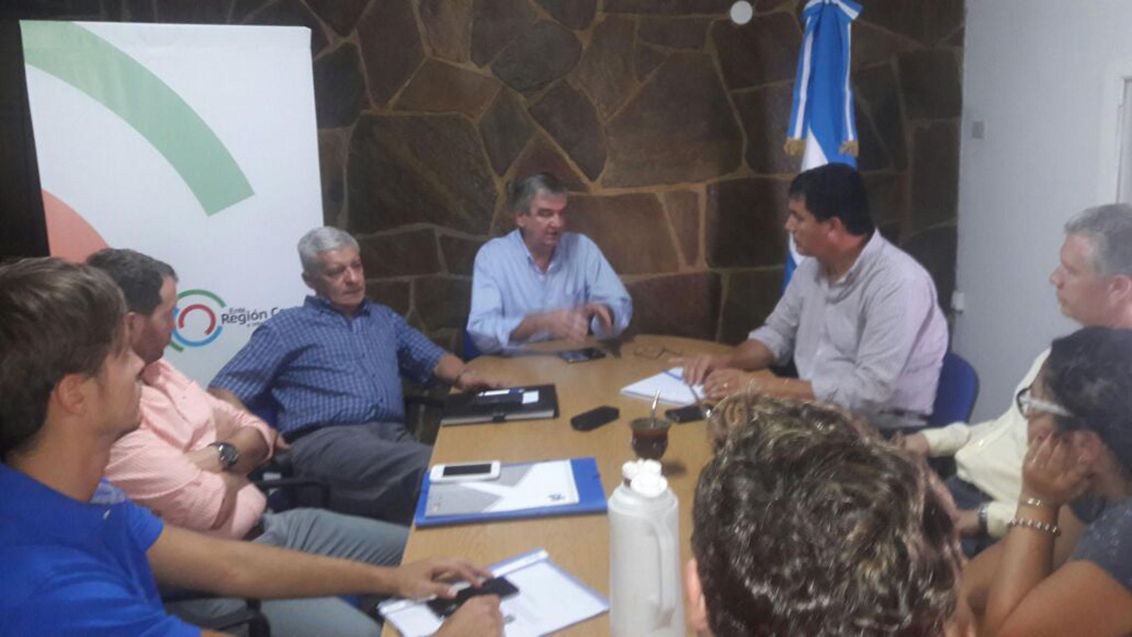 .El presidente del Ente Región Centro recibió a representantes del Foro de Universidades de Entre Ríos.