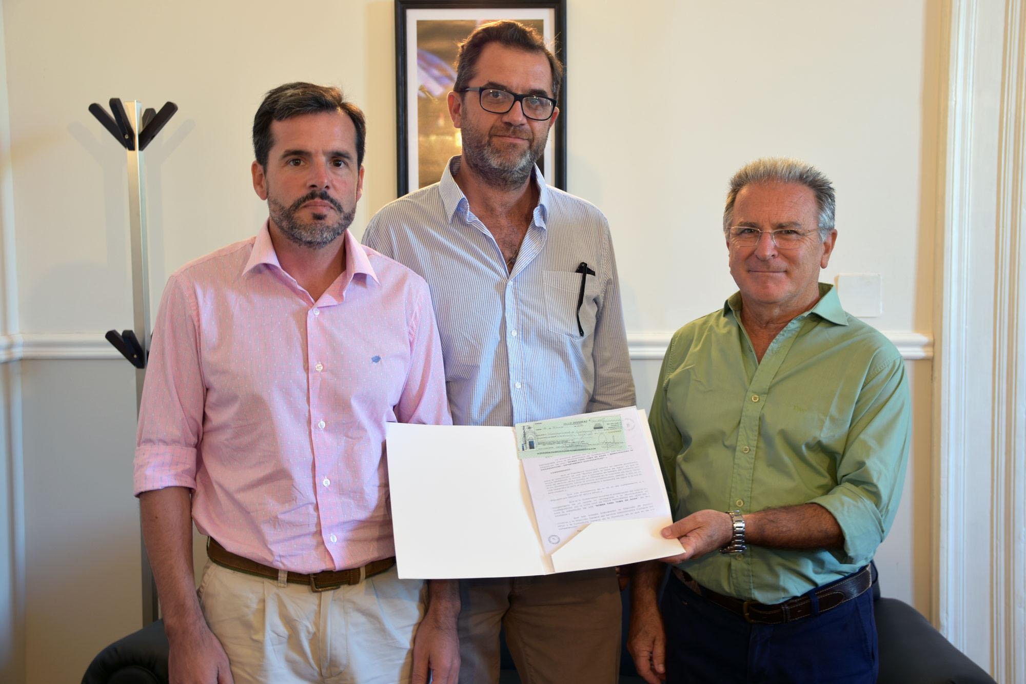 .La provincia realizó aportes para una nueva bomba de agua en Gualeguaychú.