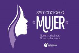 Amplia propuesta para poner en valor el rol de la mujer en la Semana de la Mujer