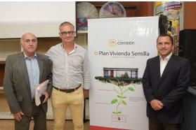 El gobierno provincial acompañó el lanzamiento del Plan Vivienda Semilla