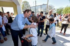 Bordet recordó a Ramón Carrillo durante la inauguración de un centro de salud