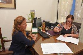 Se firmó un convenio marco entre el Registro Civil y el Instituto Becario