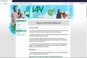 Llaman a inscribirse y actualizar datos online para acceder a viviendas del IAPV