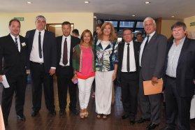 El gobierno acompañó la primer reunión anual de la Federación Argentina de Agrimensores