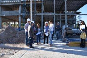 Presenta un 55 por ciento de avance la nueva escuela técnica Nº 100 de Paraná