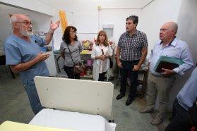 Se evaluaron las obras que el gobierno provincial lleva adelante en el departamento Uruguay