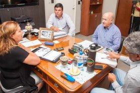 Repasaron el programa de obras viales para el departamento Villaguay