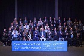 Entre Ríos traspasó la presidencia del Consejo Federal de Trabajo a Neuquén