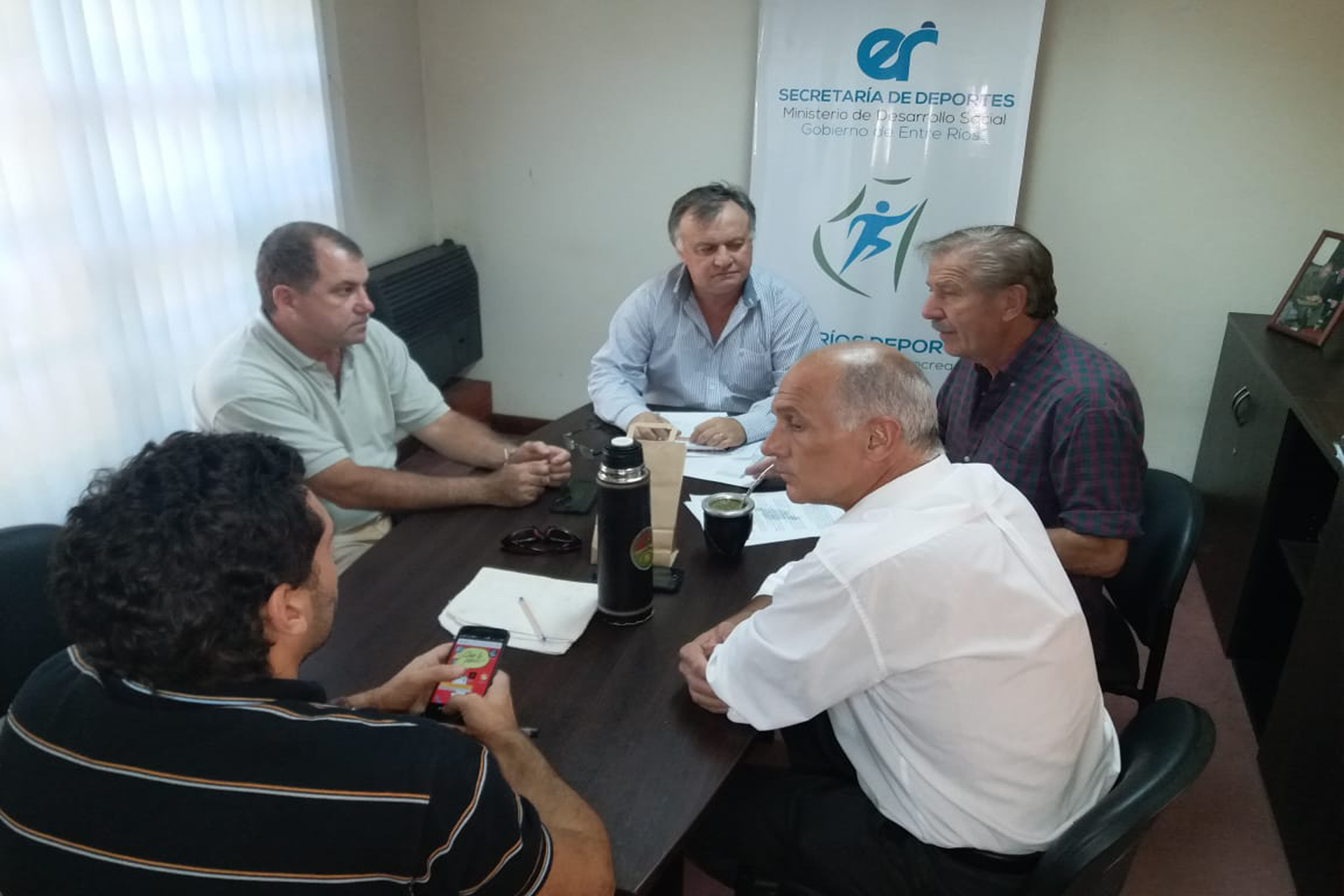 .El gobierno provincial acompañará los festejos del 80 aniversario del club Don Bosco de Paraná.