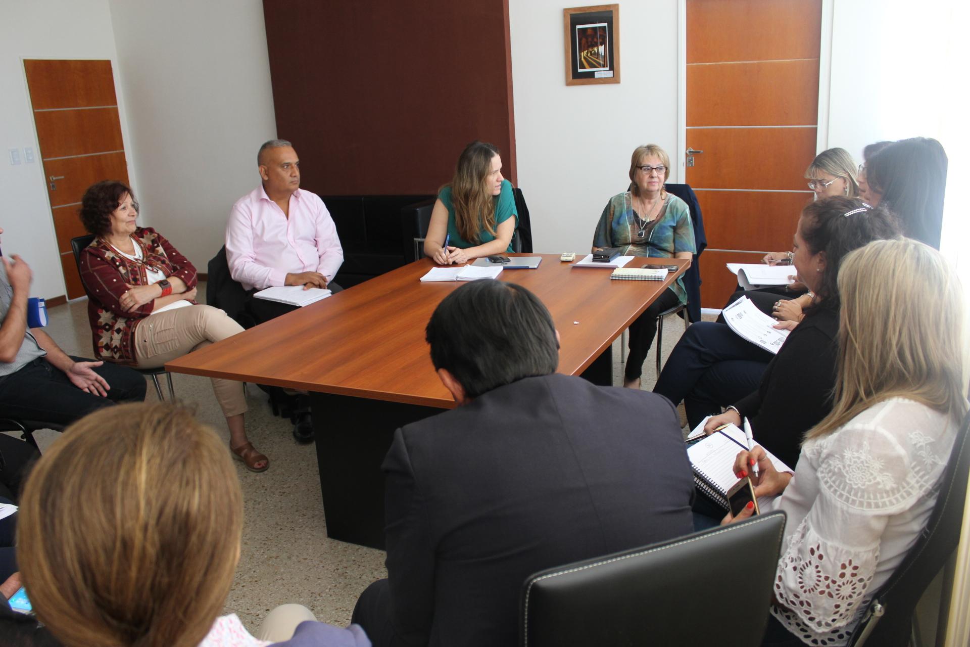 .Se realizó un encuentro de coordinadores del Programa Nacional de Formación Situada en el CGE.
