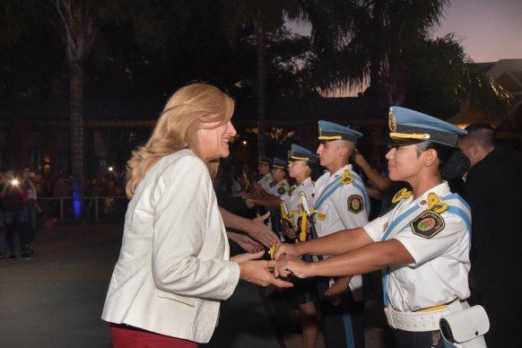 Con 89 nuevos cadetes, se inició el ciclo lectivo en la Dirección de Institutos Policiales