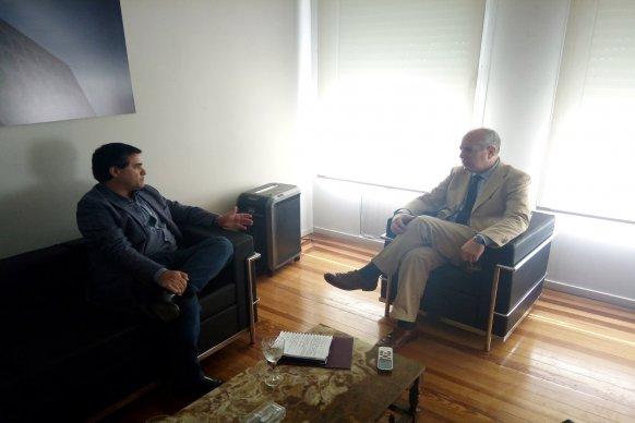 Refuerzan lazos de cooperación entre la provincia y el consulado italiano