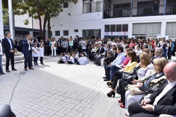 Landó participó de la presentación de los resultados de la prueba Aprender 2017