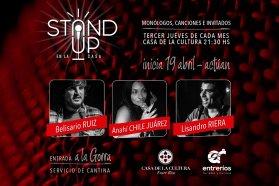 Arranca el Ciclo de Stand Up en la Casa de La Cultura