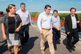 El segundo tramo de la doble vía de acceso norte a Paraná presenta un 80 por ciento de avance